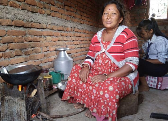 Using rocket stoves for cooking