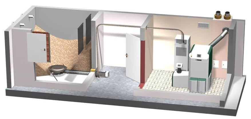 Simple Wood Pellet Vacuum System