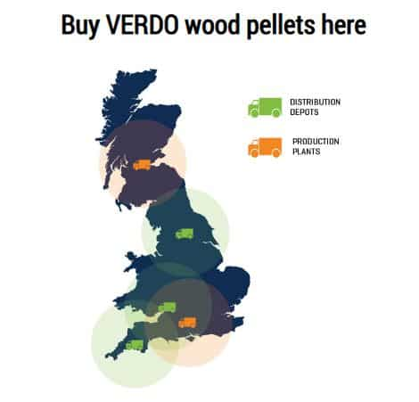 Verdo Bulk Wood Pellet Deliveries