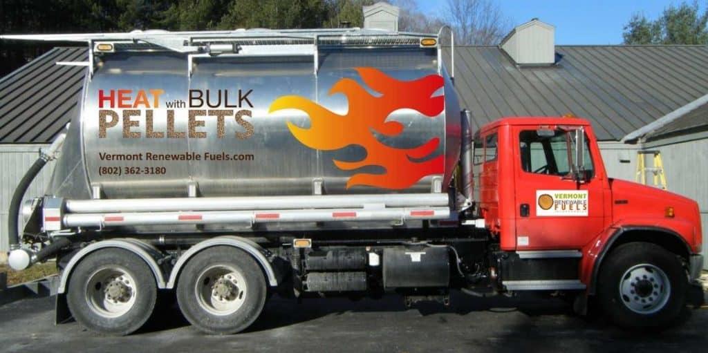 Vermont Renewable Fuels Bulk Wood Pellet Deliveries