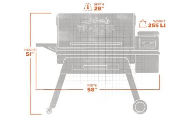 Traeger Timberline Pellet Grill Measurements