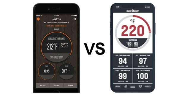 Traeger WiFire vs Camp Chef Connect WiFi Pellet Grill Apps