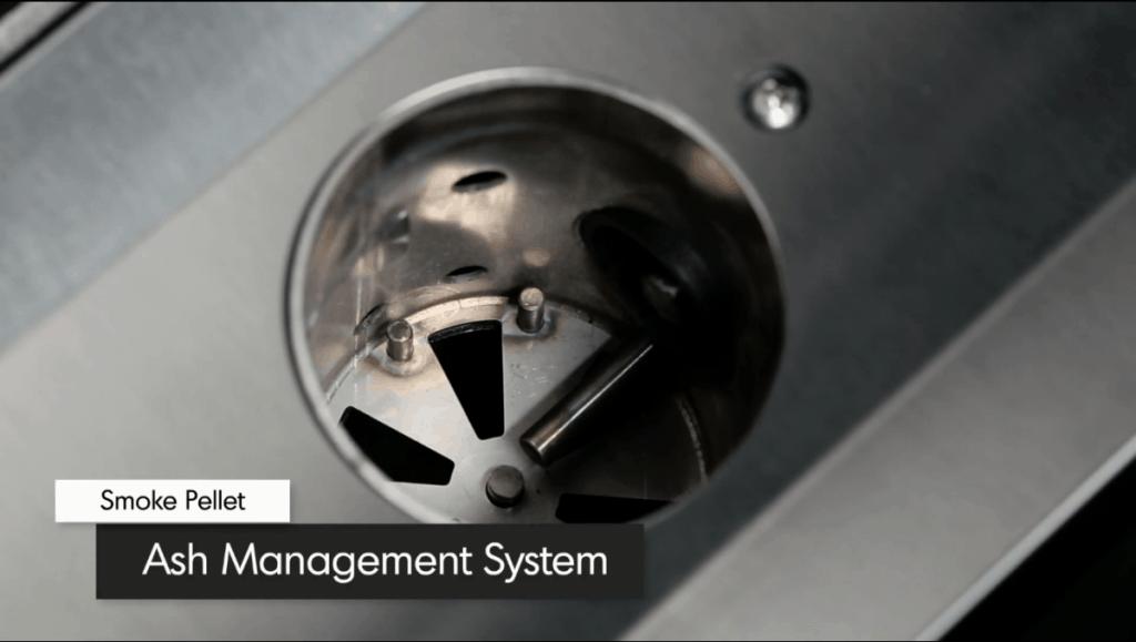 Broil King Pellet Grill Ash Management System
