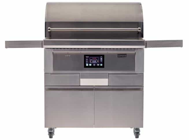 "Coyote 36"" Wood Pellet Grill Smoker"