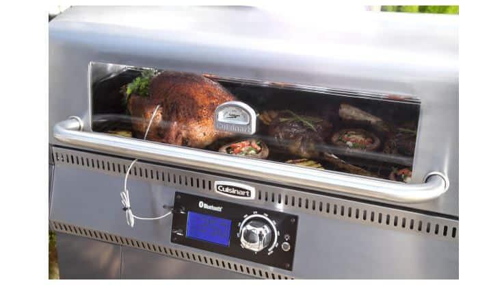 Cuisinart Woodcreek Pellet Grill Lid