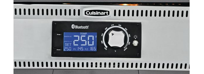 Cuisinart Woodcreek and Twin Oaks Wood Pellet Grill Digital Bluetooth Controller