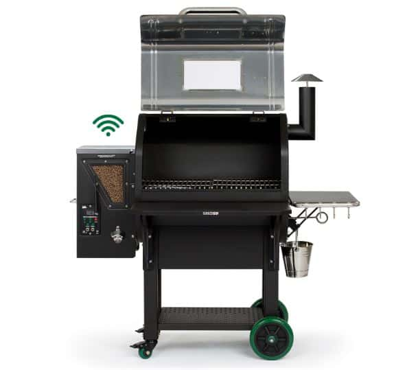GMG Daniel Boone Pellet Grill Viewing Windows