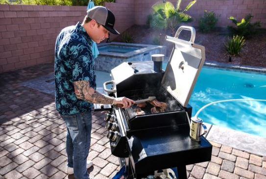 Pit Boss KC Combo Pellet Gas Grill Smoker