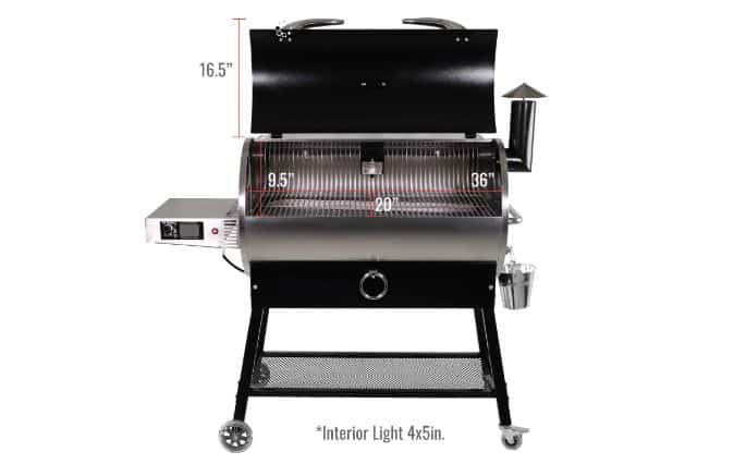 RECTEQ RT-700 Stainless Steel Cooking Chamber