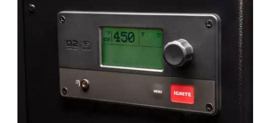 Traeger D2 Control Panel