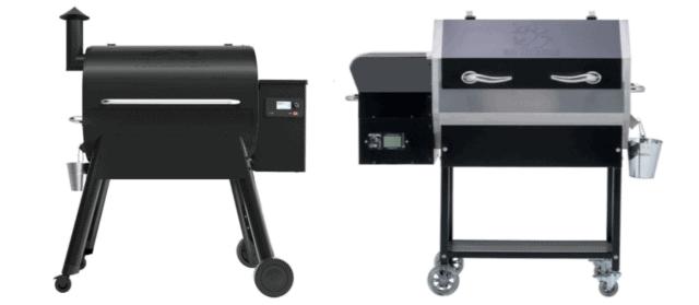 Traeger Pro 575 vs REC TEC RT-590