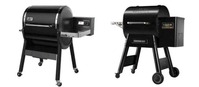 Traeger vs Weber Pellet Grills