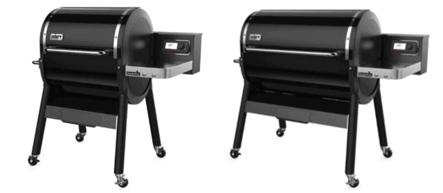 Weber SmokeFire Pellet Grills With Direct Flame Access