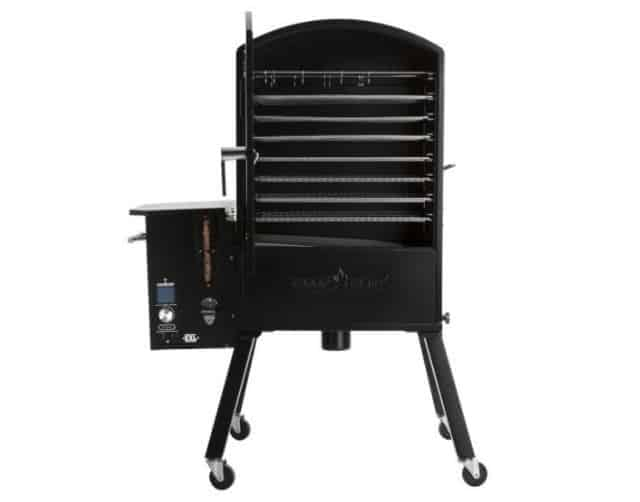 Camp Chef XXL WiFi Vertical Pellet Smoker Cooking Area