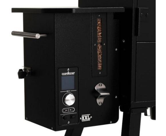 Camp Chef XXL Vertical Wood Pellet Smoker PID WiFi Gen 2 Control Panel