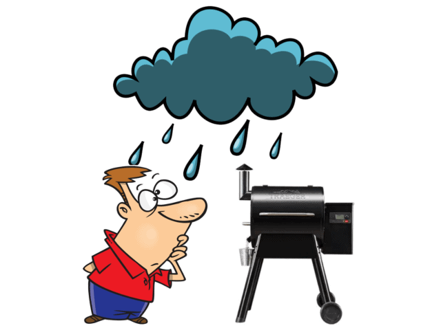 Can You Use A Pellet Grill In The Rain?