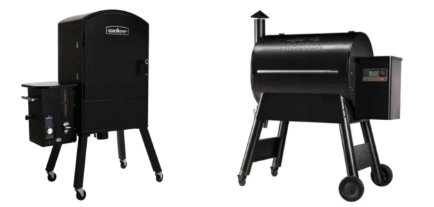 Vertical Pellet Smoker vs Horizontal Pellet Smoker/Grill