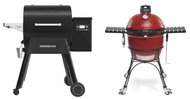 Pellet vs Kamado Charcoal Grills/Smokers
