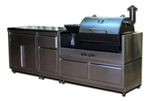 Pellet Grills and Outdoor Kitchens