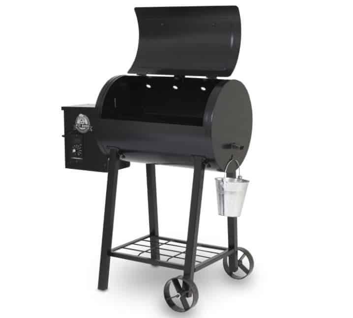 Pit Boss 340 Horizontal Wood Pellet Smoker Rear Vents