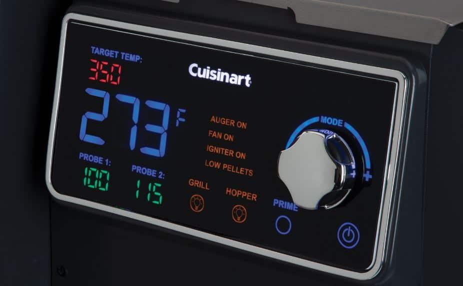 Cuisinart Clermont Temperature Control Panel