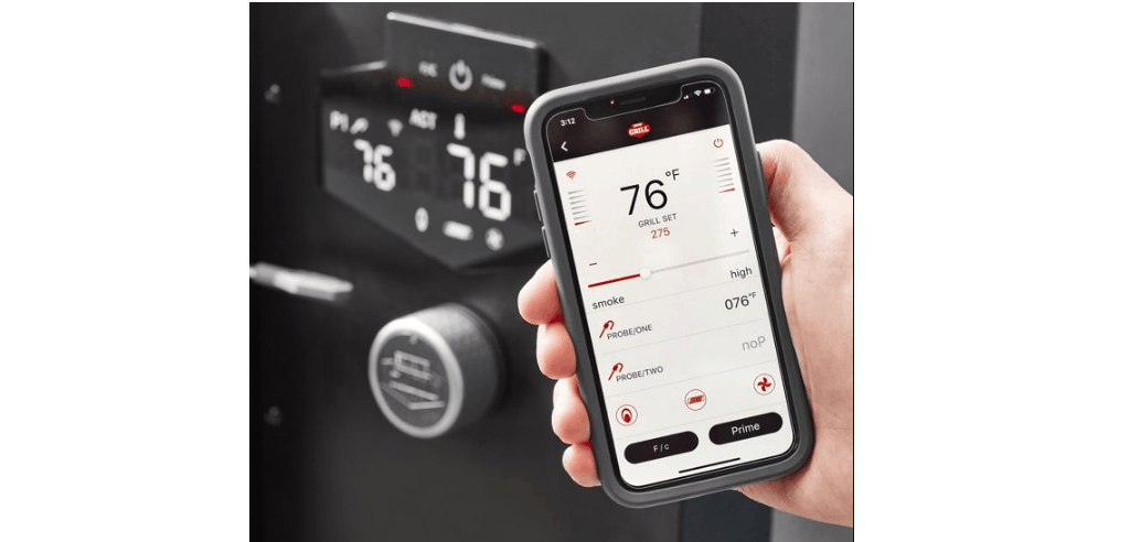 Expert Grills PID Control Panel With Bluetooth Connectivity