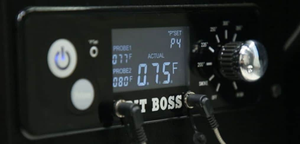 Pit Boss Gen 1 Pro Series Control Panel