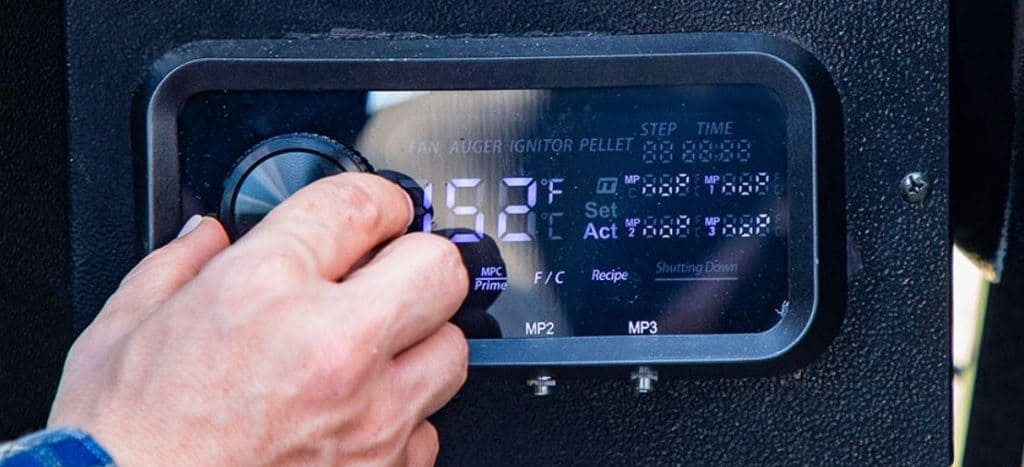 Pit Boss Gen 2 Pro Series PID/WiFi Control Panel