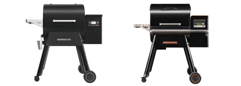 Traeger Ironwood & Timblerine With WiFi/WiFIRE
