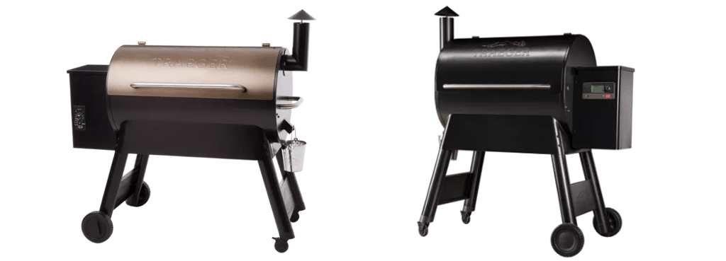 Traeger Pro Series Grills With and Without WiFire