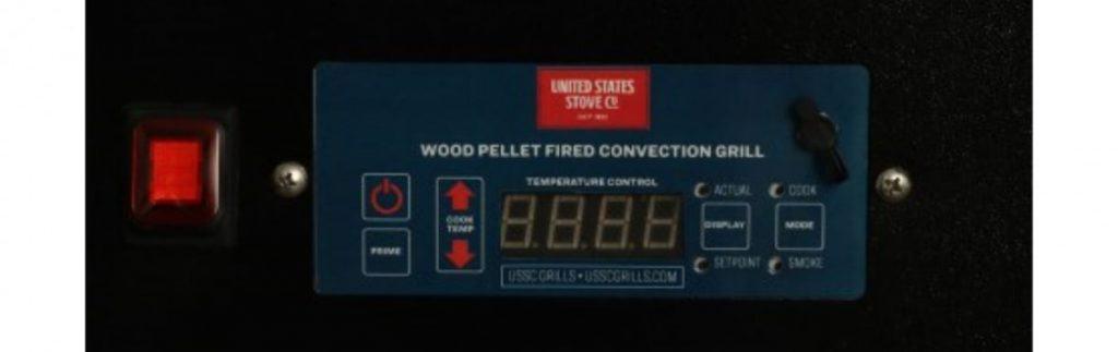 USSC Grills PID Control Panel