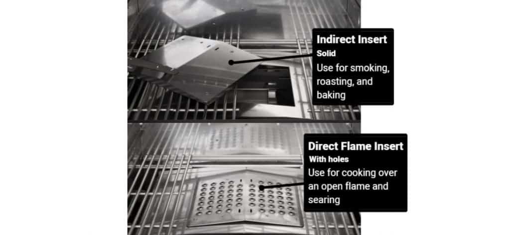 Memphis Grills Direct-Flame Insert