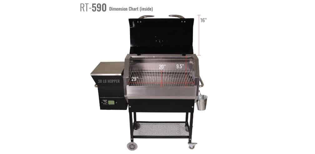 Recteq RT-590 Stampede pellet grill