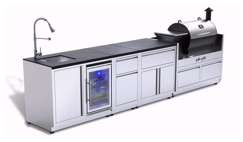 Stainless Steel Outdoor Kitchen Modules