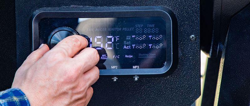 Pit Boss Pro Series Gen 2 850 Control Panel