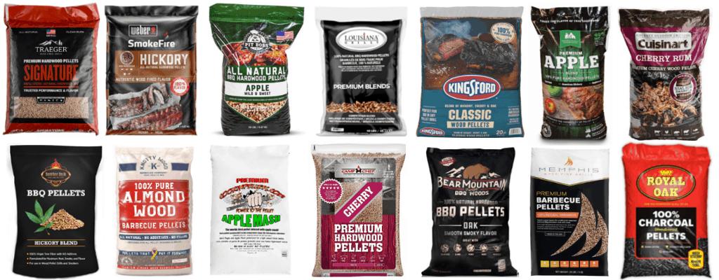Best Grill/Smoker BBQ Pellets