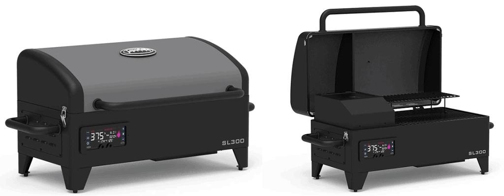 Louisiana Grills 300SL Tabletop Pellet Grill/Smoker