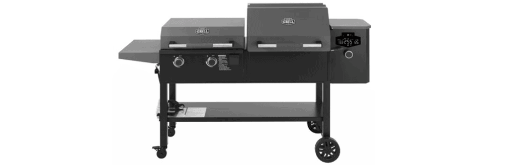 Expert Grill Concord 3-In-1 Pellet Grill, Smoker and Propane Griddle