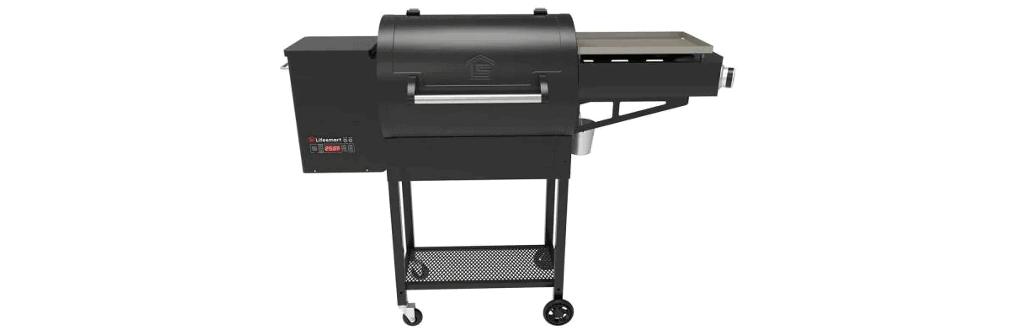 Lifesmart 600 Dual Cook Pellet Grill With Side Griddle